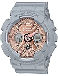 Casio Analog-Digital Rose Gold Dial Women's Watch-GMA-S120MF-8ADR (G946)
