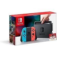 Nintendo Switch - Neon-Rot/Neon-Blau (Generalüberholt)