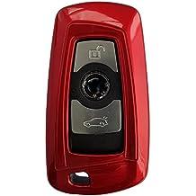 CK + BMW auto de llave Carcasa ABS plástico Keyless Key Cover Case Funda para 3567Z4X3X5X6