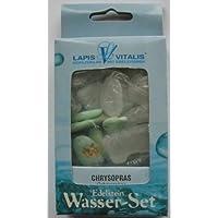 Edelstein Wasser-Set Chrysopras mit Bergkristall preisvergleich bei billige-tabletten.eu