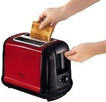 Tefal TT260 Subito Ekmek Kızartma Makinesi, Kırmızı