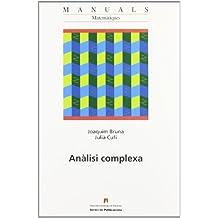 Anàlisi complexa (Manuals de la UAB)