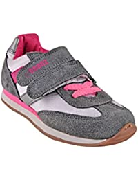 Beanz Gig Vel Jogger White/Grey/ Pink Shoes For Girls