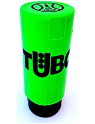 Tuboplus - Bote presurizador de pelotas de padel y tenis, Verde fluor