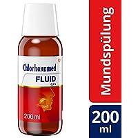Preisvergleich für Chlorhexamed FLUID 0,1%, Antiseptische Mundspüllösung mit Chlorhexidin, 200 ml, bei bakteriell bedingten Entzündungen...