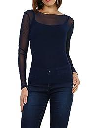 8c1f203695c Amazon.fr   sous pull voile   Vêtements