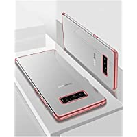 Shinyzone Samsung Galaxy Note 8 Zurück TPU Hülle,Kristall Transparentes Silikon + Überzug Roségold Bumper Stilvoll... preisvergleich bei billige-tabletten.eu