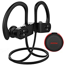 Mpow Wireless Headphones Bluetooth 5.0, Up to 9 Hrs Playing Time IPX7 Waterproof Running Headphones In-ear Earbuds for Gym Cycling Workout Running Hiking Fitness with Built-in Noise Cancelling Mic