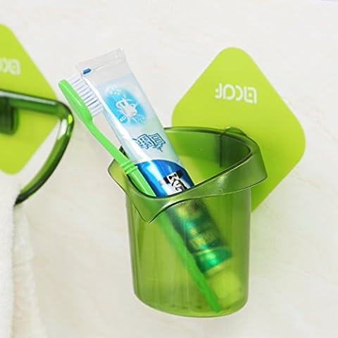 Pulizia dentifricio spazzolino da denti deposito rack rimovibile/ nessuna traccia