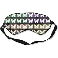 Sleep Eye Mask Butterfly Light Lightweight Soft Blindfold Adjustable Head Strap Eyeshade Travel Eyepatch preisvergleich bei billige-tabletten.eu