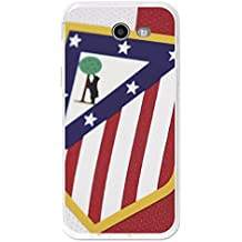 Becool TPU-SG238-ATM08 - Funda Gel Flexible Atlético de Madrid para Samsung Galaxy J3 2017 diseño escudo 1, Multicolor