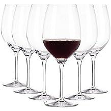 Copas de vino Tinto Arcoroc / 370 ml / Ø 65 mm / set de 6 / Gafas de alta calidad/ apto para lavavajillas