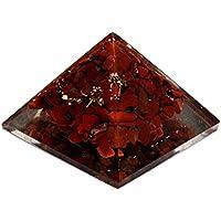 Heilung Kristalle Indien Reiki heilende Energie Geladen rot Jasper Crystal Chip Energetische Pyramide preisvergleich bei billige-tabletten.eu
