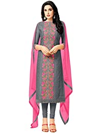 RAJNANDINI Heavy Chanderi Unstitched Dress Material (MF4006)