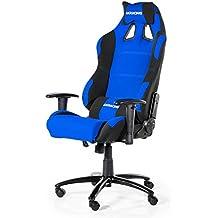 AK Racing Silla para Gaming, Negro y Azul