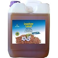 Leinöl 5 Liter Lausitzer kaltgepresst ohne Konservierungsstoffe kostenlose Lieferung