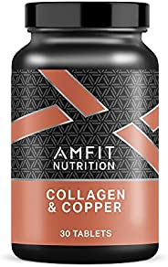Marchio Amazon - Amfit Nutrition, Collagene & Rame, 30 compr