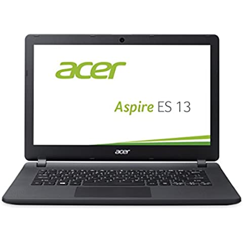 Acer Aspire ES1-331-P4C1 - Ordenador portátil (Portátil, Touchpad, Windows 10 Home, Ión de litio, 64-bit), color negro - Teclado QWERTZ alemán - [Importado de