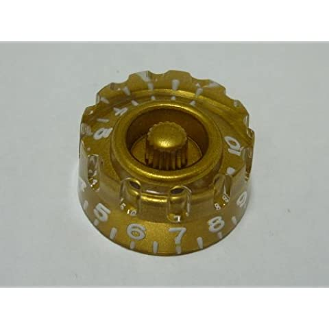 (MADE IN JAPAN)High Quality Speed Custom Knob,Embossed,Gold,(metric)