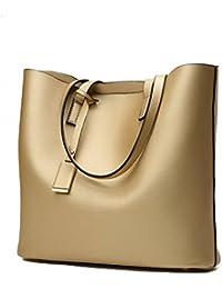 VogueZone009 Donna Tote-Style Tessuto Perla Tote-Borse Shopping Borse di  tela 8ff616c5f6d