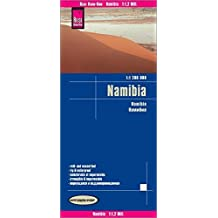 Reise Know-How Landkarte Namibia (1:1.200.000): world mapping project