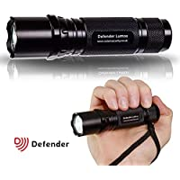 Waterproof Police Issue LED Torch - LED Flashlight - LED Cree Chips Light XP-E2 Torch - 230 Lumens Long Distance Beam - Used by UK Police Forces