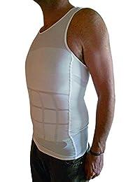 gendisc - Camiseta interior - para hombre Blanco blanco XL
