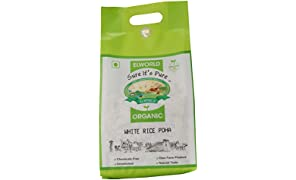 ELWORLD AGRO & ORGANIC FOOD PRODUCTS White Rice Poha (500g) - Pack of 2