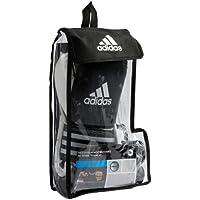 Adidas Box Set Response Boxhandschuhe 12 Unzen, OZ UZ Zahnschutz, Boxbandagen Boxset adiBPKIT01 Mundschutz Box-Bandagen schwarz weiß