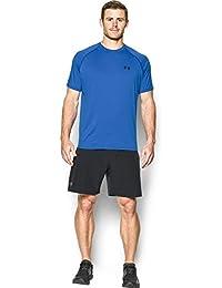 Under Armour Ua Tech Ss Tee Herren Fitness - T-Shirts & Tanks, Blau Blue Marker, L
