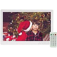 """Marco Digital Andoe 13 """" TFT LED Marco Digital de Foto Alta Resolución 1280 * 800 (Reproductor MP3 y MP4) / Video / E-book,Despertador,Calendario,Con Control Remot ,Regalo para Navidad"""