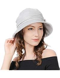 e8e2704ff1b Ladies 1920s Vintage Cloche Derby Dress Hat Fashionable Winter Bucket Hats  for Women Packable   Adjustable
