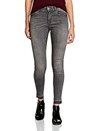 Only Onlcarmen Reg Sk Ank Dn Jearea13721 Noos, Jeans Femme