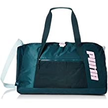 6a6898f8a Puma AT Duffle Bag Bolsa Deporte, Mujer, Ponderosa Pine, OSFA