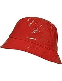 Amazon.es  Rojo - Gorro de pescador   Sombreros y gorras  Ropa 797ecd5ff9b