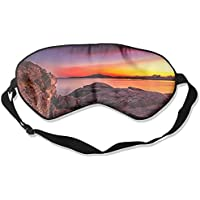 Comfortable Sleep Eyes Masks Sunset Ocean Printed Sleeping Mask For Travelling, Night Noon Nap, Mediation Or Yoga preisvergleich bei billige-tabletten.eu