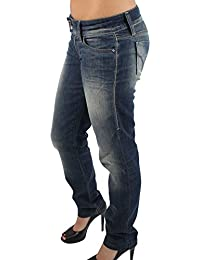 MISS SIXTY TROUSERS PIXIE Women's Jeans in Dark Blue