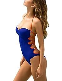 Mujeres Trajes de Baño de Una Pieza Bañador Push Up Bikinis Monokinis