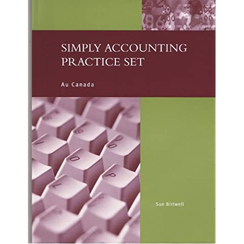 Simply Accounting Practice Set