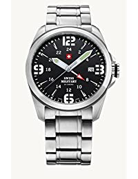 Swiss Military Analogue Black Dial Men's Watch - Sm34034.01