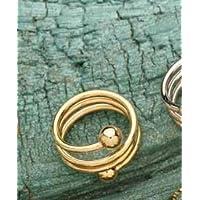Berg Spiral Bronze vergoldet, Ring, 2 Magnete mit 800 Gauss preisvergleich bei billige-tabletten.eu