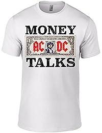 AC/DC Money Talks Mens t-Shirt White