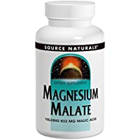 SOURCE NATURALS, Magnesium Malate 1250 mg - 90 tabs preisvergleich bei billige-tabletten.eu
