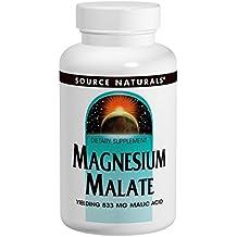 Source Naturals, Magnesio Malato - 1250mg x90tabs
