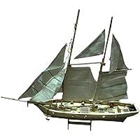 Sharplace Kit de Modelo Velero de Madera Puzzle DIY Juguete para Niños y Adultos - Halcon Baltimore Schooner