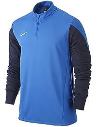 NIKE Sweatshirt Squad 14 Midlayer - Camiseta de manga larga para hombre, color azul (royal blue)/azul oscuro (obsidian), talla L