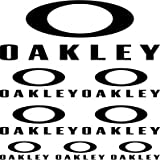 Pegatinas kit patrocina ,,oakley,, (BLANCO)