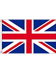 Union Jack UK 5' x 3' flag red, white and blue Union flag by Retail Zone