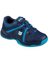Wilson ENVY JR, Chaussures de Tennis mixte enfant