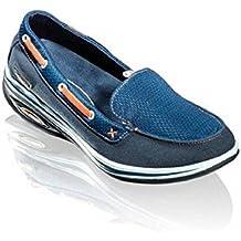 WalkMaxx Fitness Mokassins 2.0 Gr.36-42 Sandale Sommerschuhe Damen Freizeit Schuhe